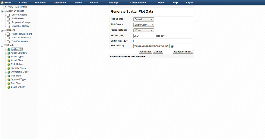 Generate Scatter Data